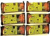 6-MiniPack of UNREAL CANDY UNJUNKED UN 77 (PEANUT BUTTER CUPS BAR UNJUNKED) (6 Mini Snack-Pack of 1.3 OZ each - NET WT 7.8 OZ (216 g)