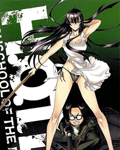 A Watercolor Rose Highschool Dead Poster Promo Saeko Busujima Anime Okami San Triage X Official Big