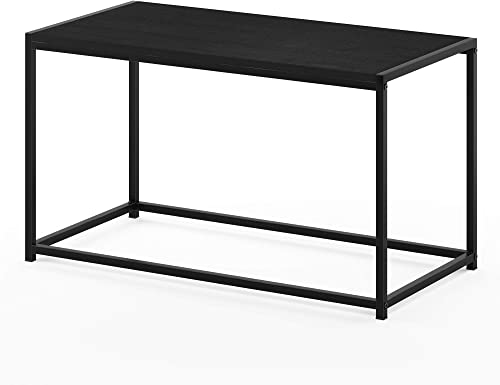 FURINNO Camnus Modern Living Coffee Table, Americano