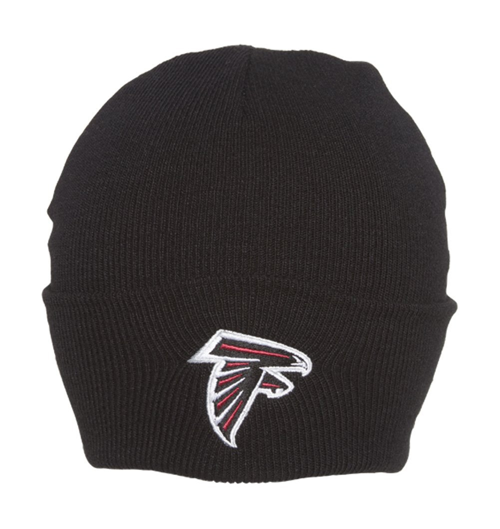 f31dc933f 47 Brand Black Cuff Beanie Hat - NFL Cuffed Football Winter Knit ...