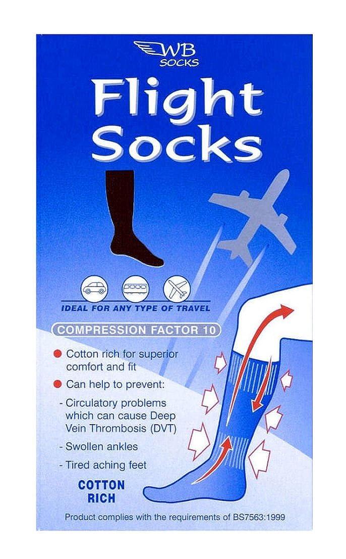 WB Socks Chaussettes de Contention en Coton anti-TVP Gamme de Pointures