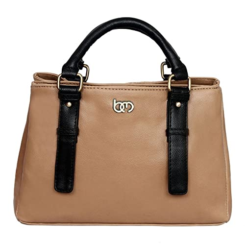 708c8dd547 Bagsy Malone Women s Shoulder Bag (Beige-BMHA6BE)  Amazon.in  Shoes ...