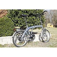 Downtube 11H Folding Bike (Silver)