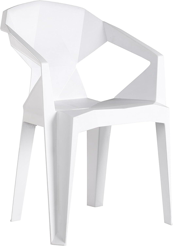 FurnitureboxUK 10x Verona Strong Plastic Modern Stylish Outdoor
