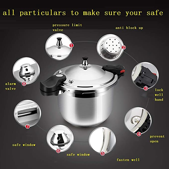 Amazon.com: Pressure Cooker Pressure Cooker Stainless Steel ...