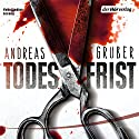 Todesfrist (Sneijder & Nemez 1) Audiobook by Andreas Gruber Narrated by Achim Buch