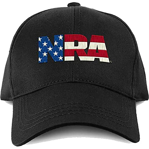 Image Unavailable. Image not available for. Color  NRA Hat National Rifle  Association USA Flag Fill Logo Adjustable Cap 2354fbd74fa3