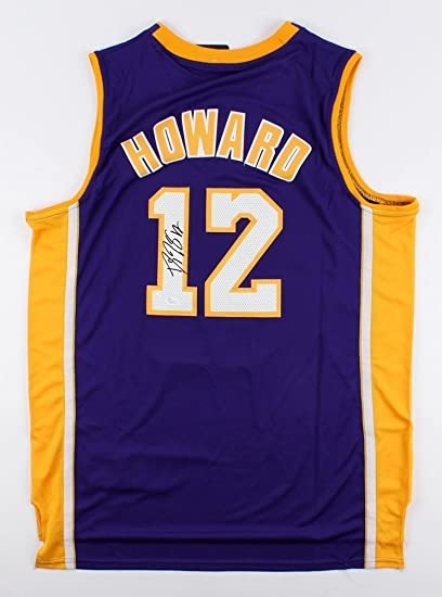 015f6a043 Dwight Howard Autographed Signed Lakers Jersey - JSA Certified at ...