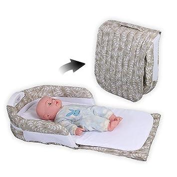 FYABB Bebé Multi-función Nido Pod, recién Nacido bebé Dormir cunas ...