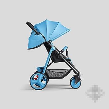 QXMEI Cochecito de bebé Puede Sentarse en un Carrito de bebé ...