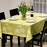 American Rural Table-Cloth,Writing Desk Cloth,Simple Modern Restaurant Rectangular Cover Cloth,Mahjong Tablecloth-A 135x220cm(53x87inch)