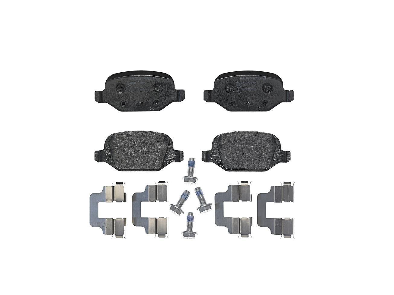 Bremsbelagsatz Scheibenbremse FERODO FDB1324