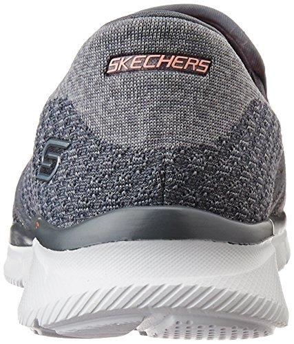 Skechers Damen Equalizzatore Dire Qualcosa Sneakers Grau (char)