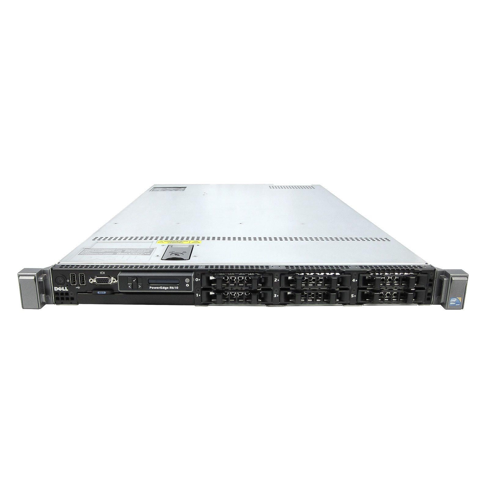 Energy-Efficient Economy DELL R610 Server 2x 2.26Ghz L5520 QC 48GB 2x 160GB SSD (Certified Refurbished) by TechMikeNY (Image #2)