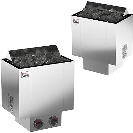 Sauna estufa eléctrica Sawo Nordex 2017 NB Trendline 4,5 kW; 6,0 kW; ...