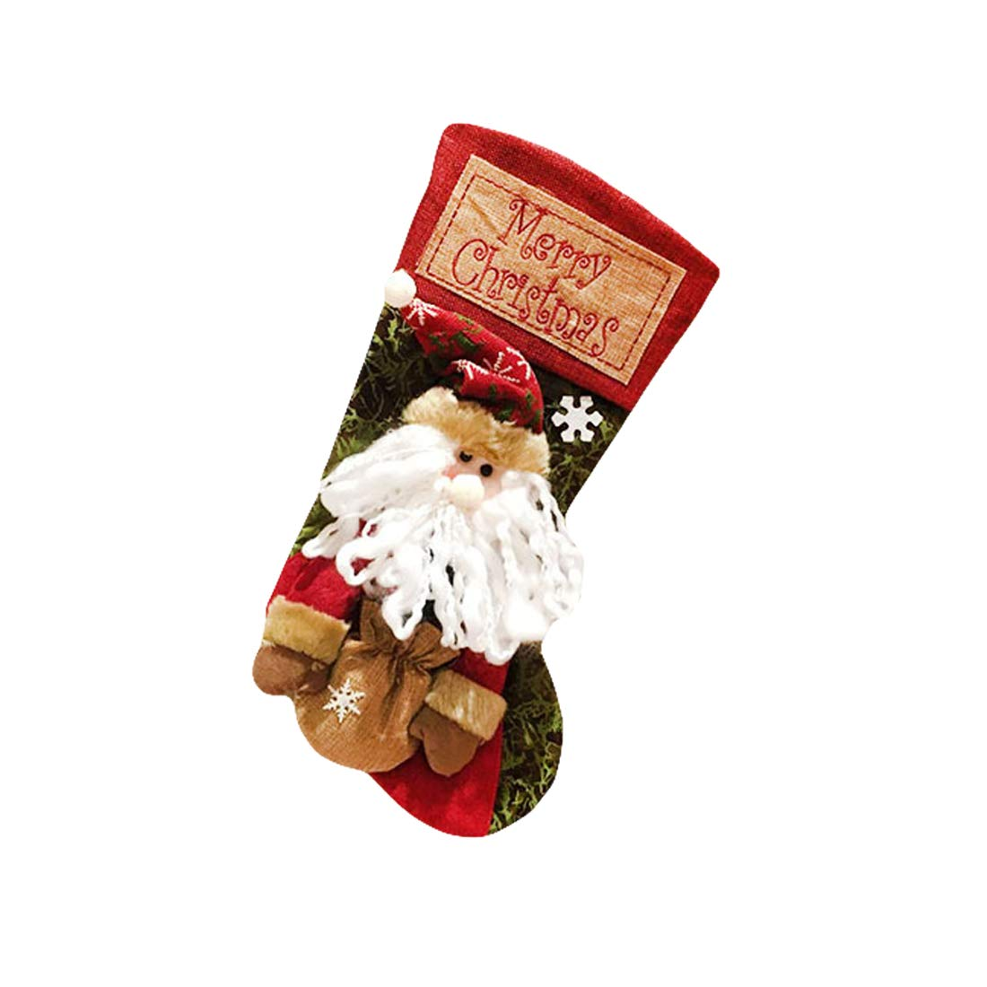 """CShopping 2018 New Christmas Stockings, 19"""" Larger Size Innovative Santa Claus Christmas Stockings Gift Bag for Kids Gifts, Christmas Eve Hanging, Tree Ornament, Home Décor"""