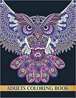 Amazon.com: Adults Coloring Book: Detailed Coloring Books ...
