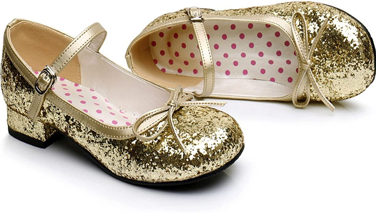 Details about  /Womens Lolita Round Toe Mary Janes Round Toe Chunky Mid Heels Sweet Cosplay Shoe