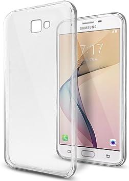 REY Funda Carcasa Gel Transparente para Samsung Galaxy On5 2016/ Galaxy J5 Prime, Ultra Fina 0,33mm, Silicona TPU de Alta Resistencia y Flexibilidad: Amazon.es: Electrónica
