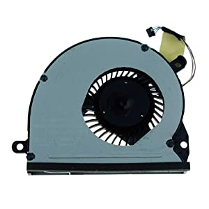 DREZUR CPU Cooling Fan Compatible for HP Spectre Envy 14-3000 14 3000 14-3100 14 3100 Series Laptop TPN-Q105 672008-001