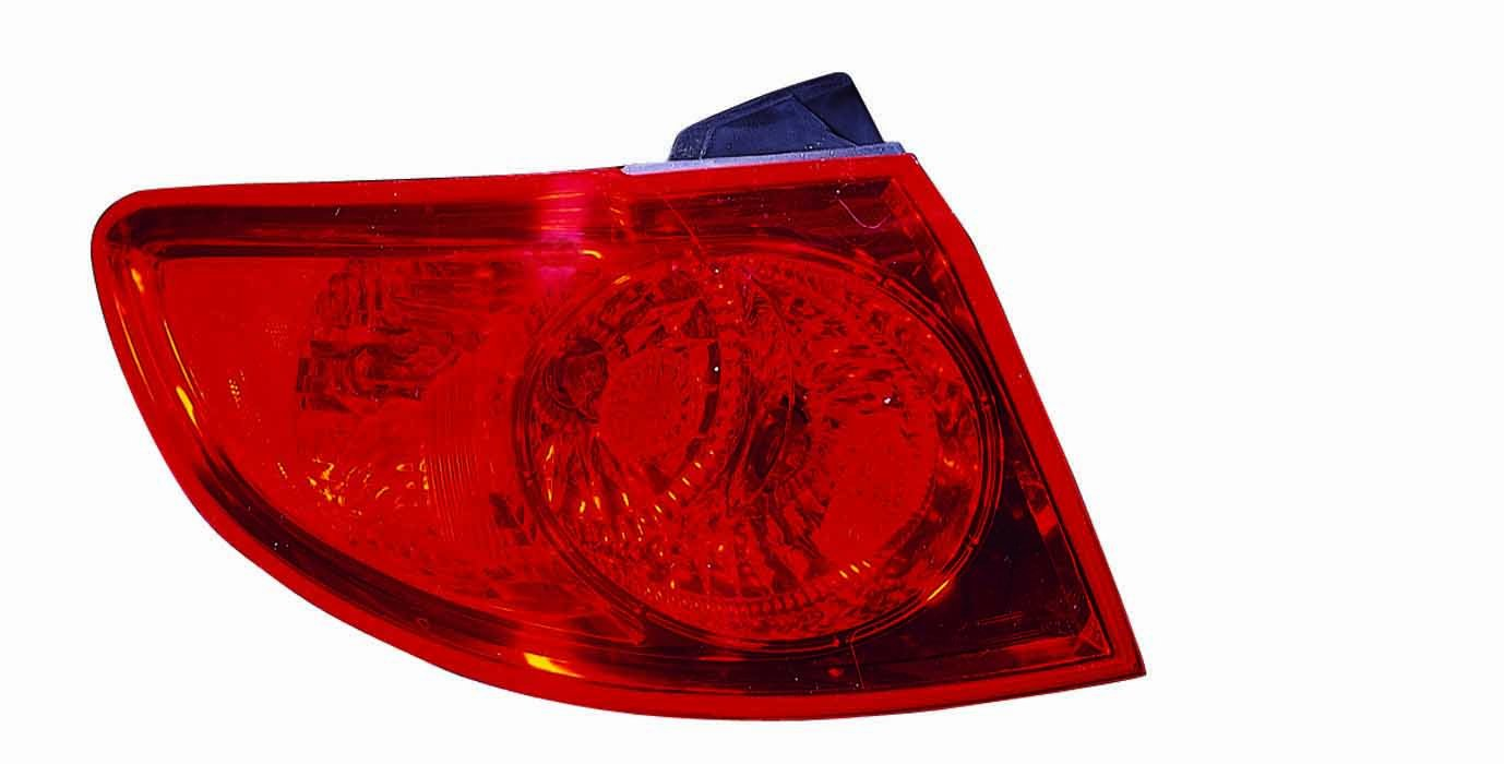 Partslink Number HY2804110 Unknown OE Replacement Hyundai Santa Fe Driver Side Taillight Assembly Outer
