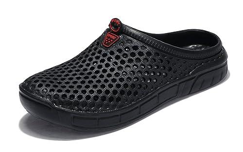 Eagsouni Unisex Hacia Ahueca Fuera Sandalias Zapatillas Zapatos Las Hombres Playa De Respirable Mujeres Zuecos qSUMVpz