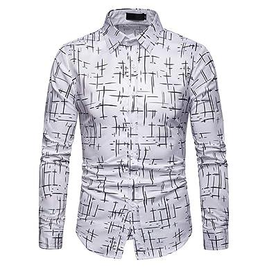 Sangni Camiseta Casual de Manga Larga con puño Blanco, 2XL: Amazon ...