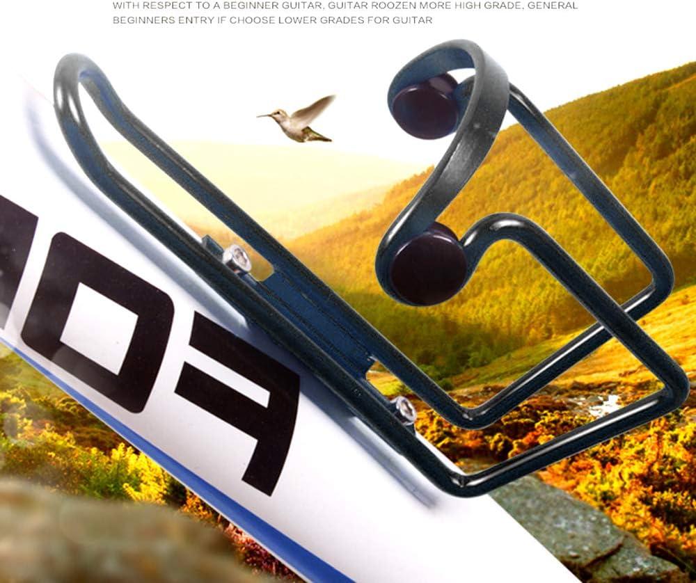 Exporee Portabidones para Bicicletas Aleaci/ón de Aluminio Soporte de Botella de Agua de Bicicleta Ajustable MTB Soporte de Soporte de Rack de Botella de Agua de Bebida Ligera para Bicicleta MTB