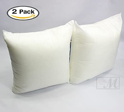 Amazon Set Of 40 406 X 406 Premium Hypoallergenic Stuffer Pillow Gorgeous 26 By 26 Pillow Insert