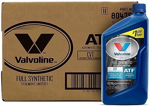 Valvoline Cvt Full Synthetic Transmission Fluid