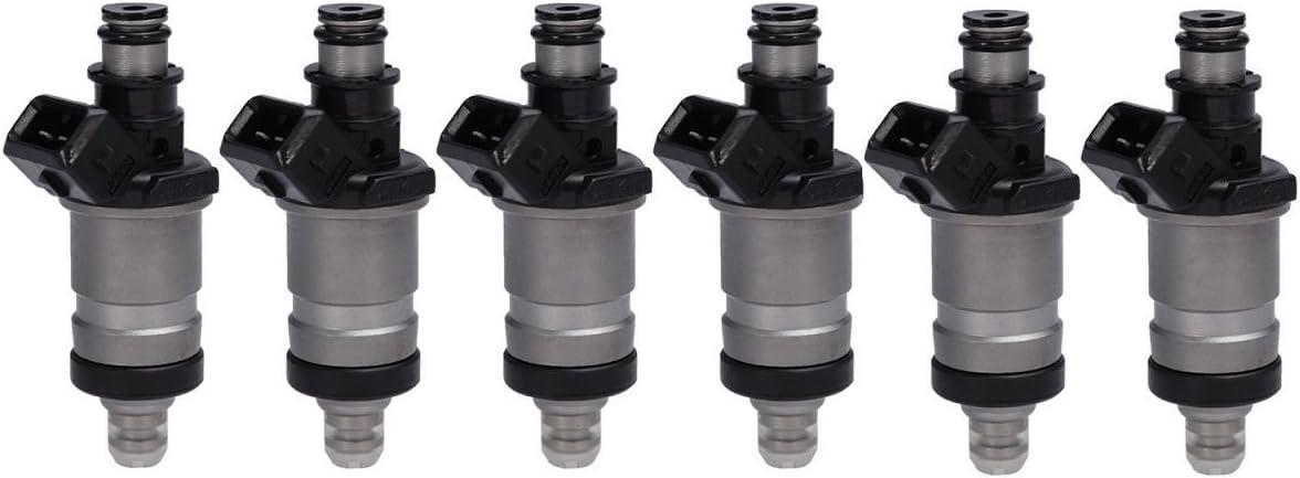 Genuine Honda 6X Fuel Injectors for Honda Accord Acura CL 3.0L Flow Matched