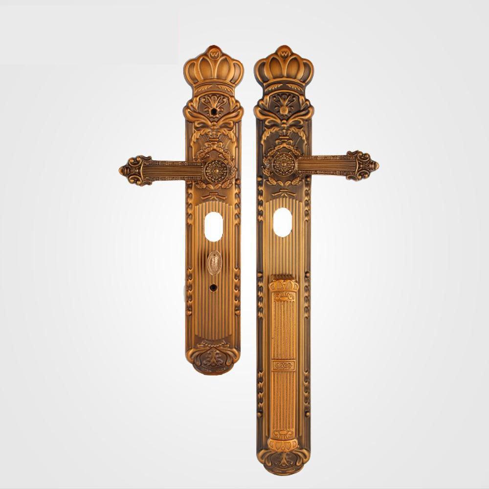 Daeou Security door zinc - iron alloy handle villa door handle hardware locks door handle