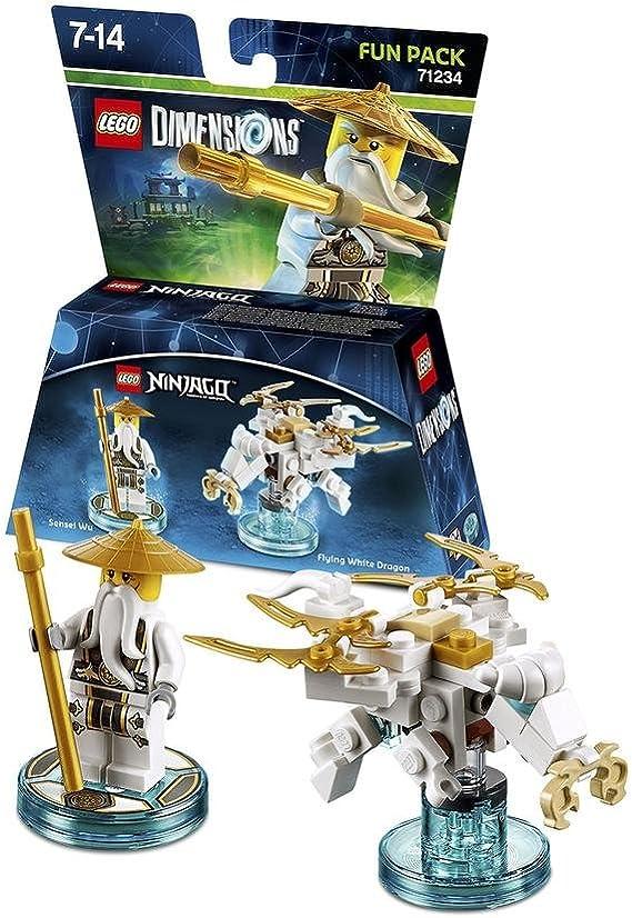 Lego Dimensions: Fun Pack Sensei Wu (White Ninja) [Importación ...