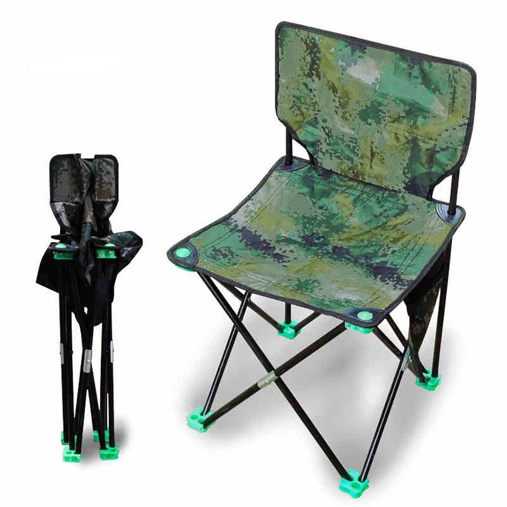 Y hwzdyキャンプ椅子キャンピングチェア/アウトドア折りたたみ椅子、釣りレジャー椅子、通気性ソリッドポータブルビーチ椅子、   B07F7L7KSN