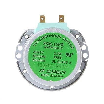 Ycncixwd 50/60 Hz AC21 V 3 W Motor de sincronización para ...