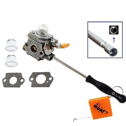 HURI - Carburador, juntas y destornillador de ajuste para ...