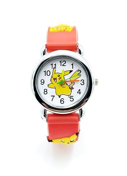 3c23ead97d Image Unavailable. Image not available for. Color: Pokemon Kids Watch  Pikachu ...