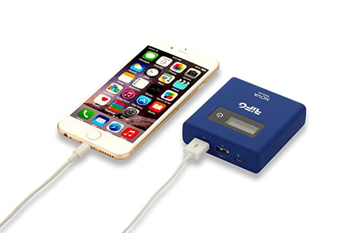 Amazon.com: Nova 5000 mAh Power Bank Cargador portátil con ...