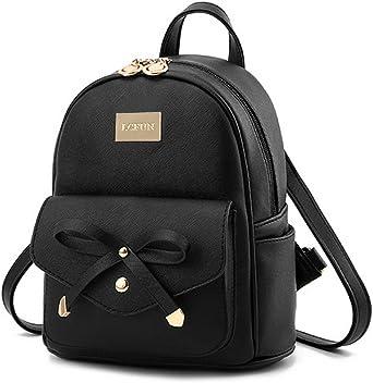 Cute Mini Leather Backpack
