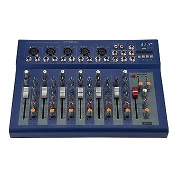 Fosa mesa de mezclas, mesa de mezclas de audio estéreo digital, 2 ...