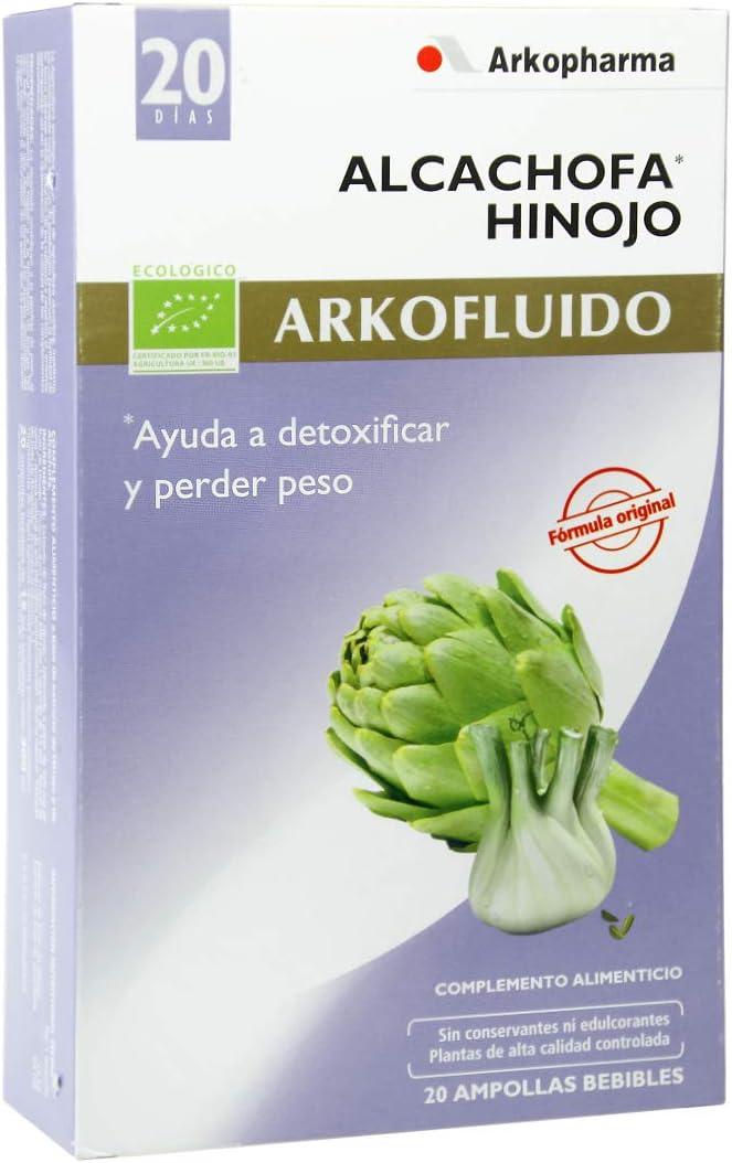 ARKOPHARMA S.A LABORATORIO FARMACEUTICO Laboratorio Farmaceutico - Ampollas alcachofa con hinojo arkopharma