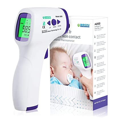 Digital Infrared Thermometer Temperature Gun Adult Kids Baby Fever US