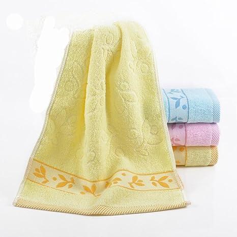 Página de inicio de mano Baño de Lavado Toalla Toalla de mano Spa Amarillo Azul (