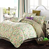American Country Style Quilt cover/Cotton/Plant Floral Pattern Quilt cover-T 180220cm(71x87inch)