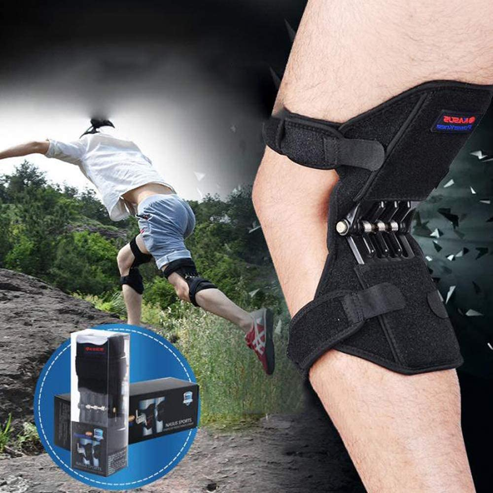 HPDOSH Knee Support Knee Pad Brace Meniscus Pain Power Lift Spring Force  Adjustable for Protection Knee Joint Old Cold Leg Band Mountaineering Deep  Care: Amazon.co.uk: Garden & Outdoors