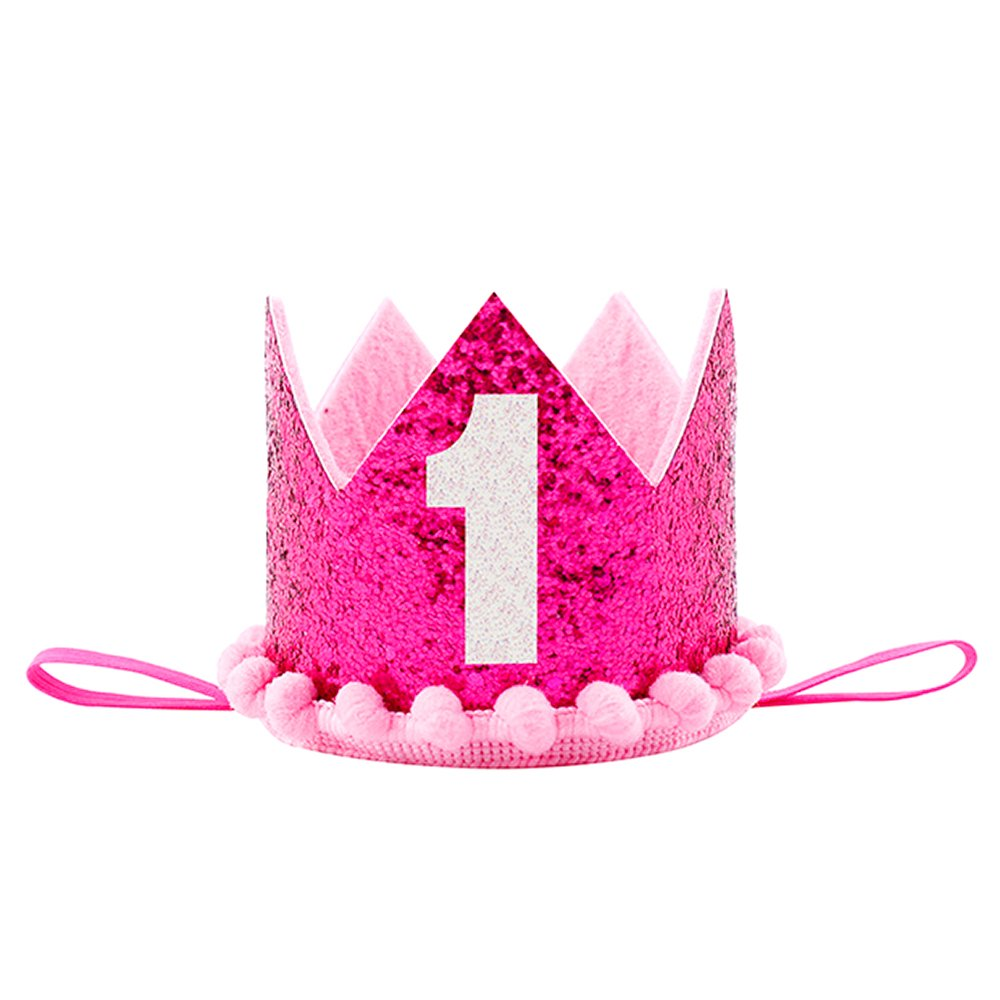 Petsidea Pet First 1 2 Birthday Crown Hat For Dog Doggy Cat Kitty Pig Party Photo Prop Christmas Ornament