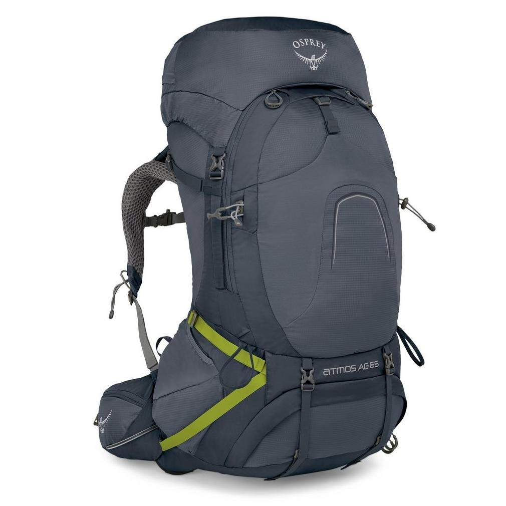 Osprey Packs Osprey Pack Atmos Ag 65 Backpack, Abyss Grey, Large