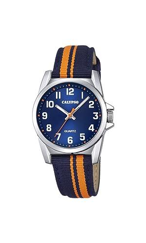 Calypso Reloj Análogo clásico para Unisex de Cuarzo con Correa en Nailon K5707/4: Calypso: Amazon.es: Relojes
