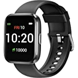 Letsfit Smart Watch for Android Phones Compatible with iPhone Samsung, Fitness Tracker with Blood Oxygen Saturation…