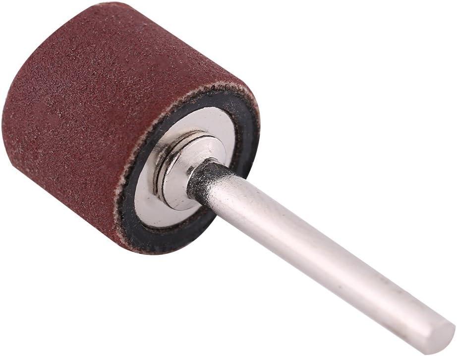 100Pcs 1//2/'/' Silicon Carbide Sanding Drums Sleeves 120 Grit 2 Mandrels